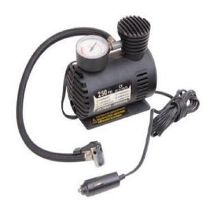 Shock Vehicle Air Compressors Dc 12v 250psi  With Cigarette Lighter Plug Manufactures
