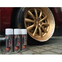 Fluorescent / Luminous Removable Rubber Spray Paint With Liquid Coating Manufactures