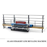 Automatic Straight Line Glass Beveller Edge Cutting Grinding Polish Machine,Glass Straight Line Beveling Machine Manufactures