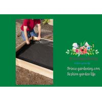 """Black Raised Garden Bed Plastic Liner 3"""" Liners Are 10"""" High Four sizes: 3' x 3'"""