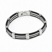 316L Stainless Steel Bracelet, Various Styles Available Manufactures