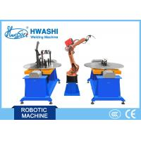 Motor Cycle Frame Automatic Welding Robot , Metal Frame Industrial Robot Welding Machine Manufactures