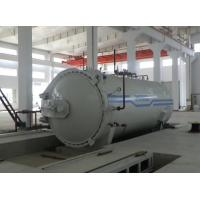 Quality Composite Materials Pressure Vessel Autoclave Temperature With Plc Control System for sale