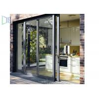 Quality Residential Housing Powder Coated Aluminium Doors Weather Resistant ISO Certificate for sale