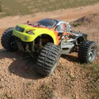 251-88 1/10 Nitro Powered Monster Truck - Tharter Manufactures