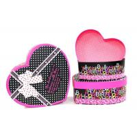 Heart Shaped Cardboard Gift Boxes Christmas Gift Containers With Custom Logo Manufactures