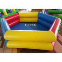 PVC Tarpaulin Inflatable Swimming Pools 3m Diameter Various Color Manufactures