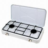 Gas Stove European Style with 2 Burners Table Manufactures