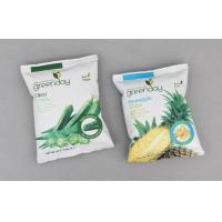 PET / AL / PE Disposable Plastic Packaging Bags For Snack Food Manufactures