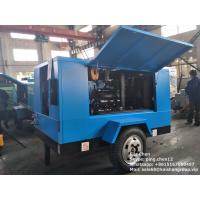Energy Saving 9m3/min 14bar Diesel Portable Screw Air Compressor For Mining Manufactures