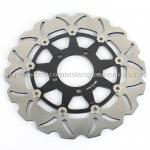 Aluminum Motorcycle Brake Disc Rotor Brake Kawasaki Z 1000 ZX10R CNC Milling Manufactures
