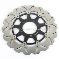 Quality Aluminum Motorcycle Brake Disc Rotor Brake Kawasaki Z 1000 ZX10R CNC Milling for sale