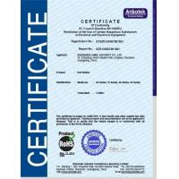 SHENZHEN CAMEL SECURITY CO.,LTD Certifications