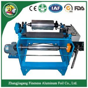 Top grade hot-sale aluminum foil rewinding cutting making machine Manufactures