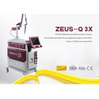 Safe Laser Tattoo Removal Device , Yag Tattoo Removal Machines 800mj Pulse Energy Manufactures