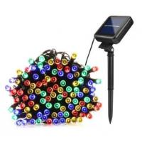 Quality Colorful Decorative Solar String Lights Quick Installation 200 LED String Lights for sale