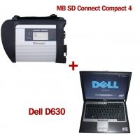 MB SD Connect Compact 4 Star Diagnosis 2018.5V Software Version Plus Dell D630 Laptop Manufactures