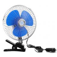 CE Standard Car Cooling Fan 12V / 24V Voltage With One Year Warranty Manufactures