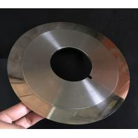 Customized Cloth Cutting Knife , Slitting Carbon Paper Machine Round Cutting Blades Manufactures