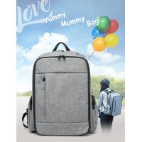 Large Capacity Baby Diaper Backpack With Aluminum Foil Insulation Layer Manufactures