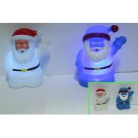 Christmas LED Flashing Santa Light Up Bath Ducks / Dolphin Night Light Luminous Toy Manufactures