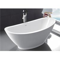 Quality Comfortable Oval Shaped Baths American Standard Stand Alone Tub 2 Years Warranty for sale