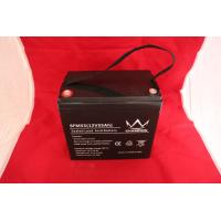 Replacement Agm  Lead Acid Battery 12V 50AH With 7.5 Ω Internal Resistance Manufactures