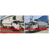 High quality and best price dongfeng 4*2 RHD 190hp 8tons-12tons hydraulic livestock poultry feed delivery truck for sale Manufactures