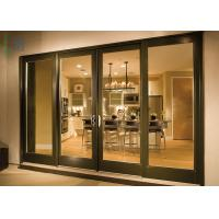 Quality Luxury Aluminium Sliding Doors Size Customized Heat Insulation For Interior for sale