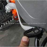 Quality CNC Machined Aluminum Motorcycle Brake Pedal Step Plate For Dirt Bike for sale