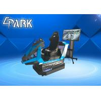 Bluetooth Warrior 9D Virtual Reality Simulator With 1 Seat / Car Racing Game Machine Manufactures
