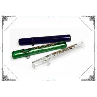 Smoking Glass Tube 7 Inches Streamroller 5mm Thickness Borocilicate Hand Pipes Manufactures