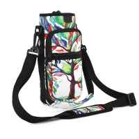 2 Pockets Neoprene Insulated Water Bottle Holder Manufactures