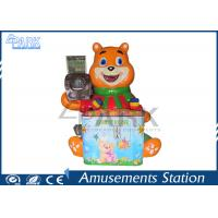 Lovely Bear Hammer Game Machine / Arcade Machines Coin Operated Hard Material Manufactures