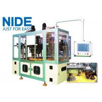 Buy cheap Full automatic three station stator coil winding and inserting machine for 3 phase motor from wholesalers