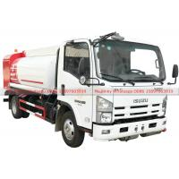 ISUZU Fuel Bowser Truck with Fuel Dispenser Hose reel and flow meter 6000Liters Manufactures