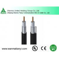 Quality 75ohm 565 Series Seamless Solid Al Tube Coaxial Trunk Cable for sale