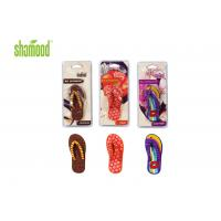 Christmas Slipper Deco Hanging Car Air Fresheners / Good Air Freshener For Room Manufactures