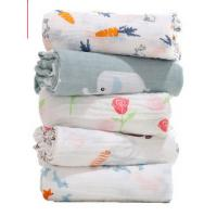 Buy cheap Durable Newborn Baby Boy Muslin Swaddle Blankets As Baby Bath Towels And from wholesalers