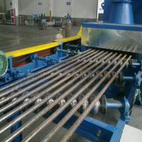 Sand Blasting Clean Machine For Clean Steel Pipe Out And Inner Wall Manufactures