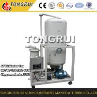 Portable Used Hydraulic Oil Recycling and Regeneration Machine to change color to clean Manufactures