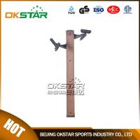 fitness equipment for elderly wood outdoor fitness chest press machine chest exercise equipment for old people Manufactures