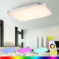 LED Ceiling Lights Lamp Luminaria Ceiling Light With Remote Control Dimmable Color And RGB Changing Fixtures Lustre Manufactures
