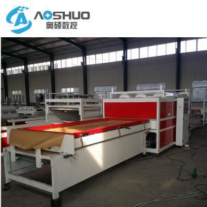 China Pvc Film Vacuum Membrane Press Machine Full Automation Double Seat 8kw on sale