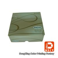 Quality Folding Sustainable Food Packaging Boxes , Velcro Closure Square Mooncake Packaging Box for sale