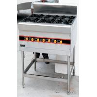 Floor Type 40KW Commercial Gas Cooking Stove 4-8 Burner 900x800x950mm Manufactures