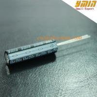 Quality 105°C 250V 28uF 6000 Hours Capacitor Radial Aluminum Electrolytic Capacitor for for sale