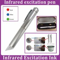 Infrared excitation ink test pen Manufactures