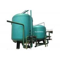 Activated Carbon Filter FRP Pressure Tank Water Filter For Color / Organic Pollution Removal