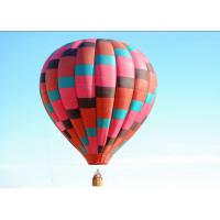 Commerical Sightseeing Inflatable Hot Air Balloon Trips Colorful Fire Resistance Manufactures